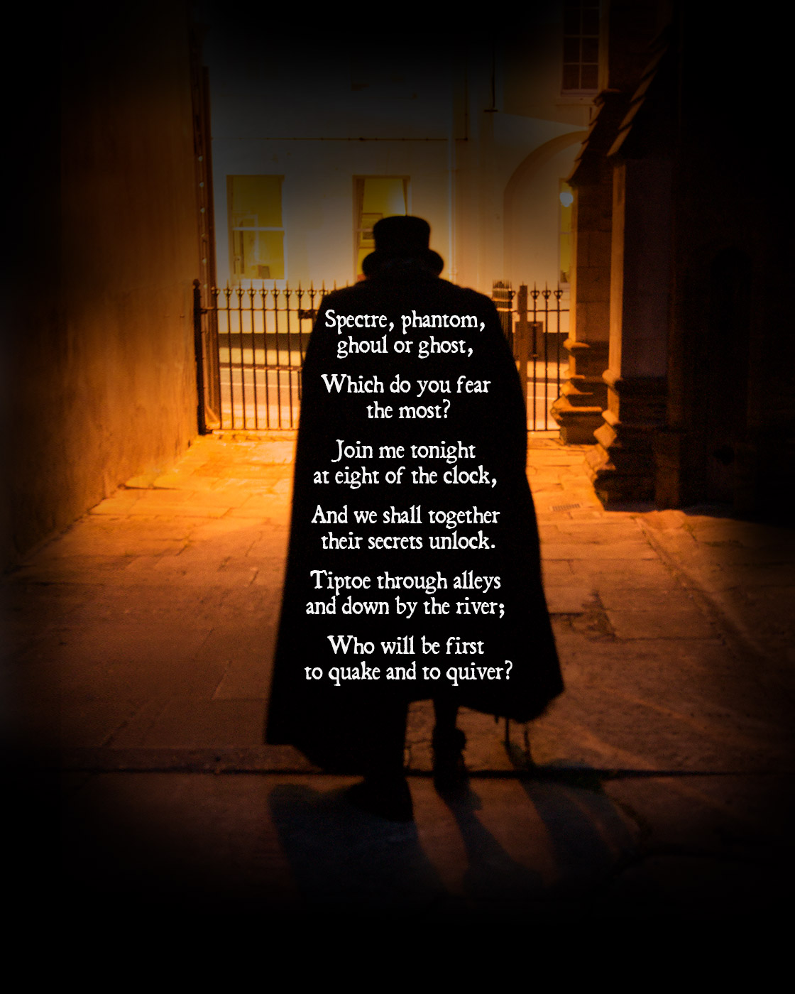Dorchester ghost walk poem